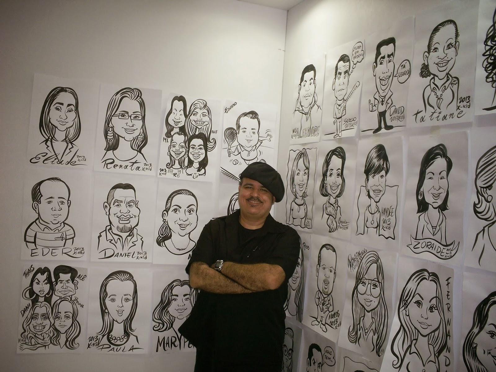 Contrate um Caricaturista para produzir as lembrancinhas do seu evento